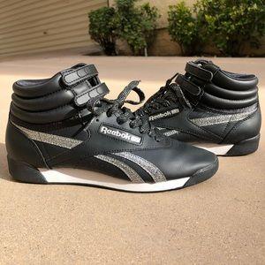 Reebok Classic Freestyle Black Hi-Top Sneaker S8